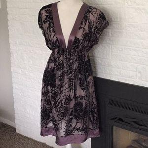 Hale Bob silk burnout dress